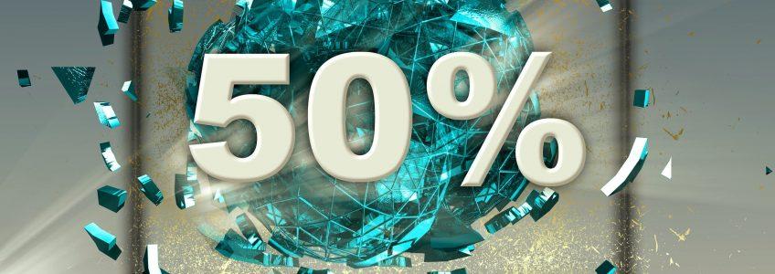 Vendredi Fou : 50 % sur votre nouveau forfait Hébergement Web