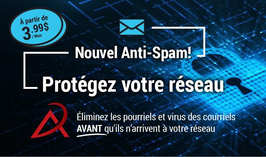 Anti spam – Renforcez la protection de vos boîtes de messagerie avec le nouveau filtre de sécurité Viasécure+